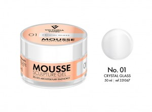 Victoria Vynn - Mousse Sculpture Gel - 01 - Crystal Glass 50ml
