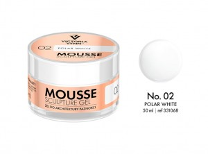 Victoria Vynn - Mousse Sculpture Gel - 02 - Polar White 50ml
