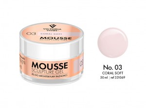 Victoria Vynn - Mousse Sculpture Gel - 03 - Coral Soft 50ml
