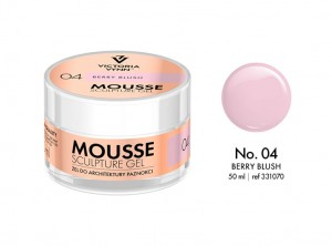 Victoria Vynn - Mousse Sculpture Gel - 04 - Berry Blush 50ml